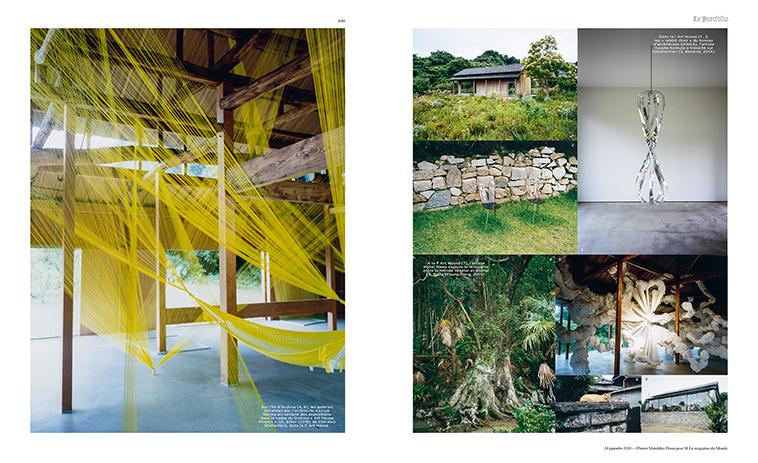 Naoshima.indd  M-lemagazine, M-lemagazine/Edition/LePortfolio, 2